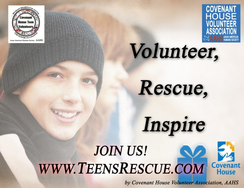Joyce Kim - Sponsor -Covenant House Teen Volunteers Association 2011~2018